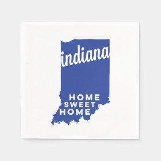 azul dulce casero del hogar el | de Indiana el | Servilleta Desechable