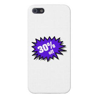 Azul el 30 por ciento apagado iPhone 5 cárcasa