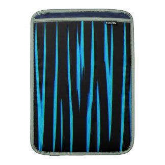 ~ AZUL ELÉCTRICO (de un diseño del arte abstracto) Fundas Para Macbook Air