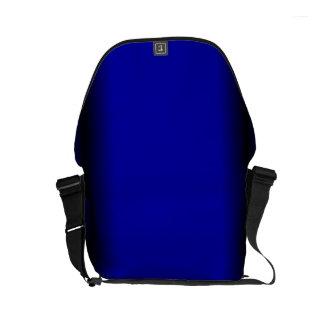 Azul eléctrico sólido bolsas de mensajería