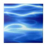 Azul eléctrico tejas  cerámicas