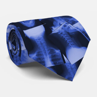 Azul electromágnetico radiografiado corbata