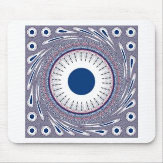 Azul elegante tapetes de raton