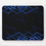"Azul en la ""espina negra"" Mousepad Alfombrillas De Ratones"