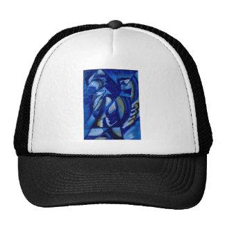 Azul en la lata de Olga Rozanova Gorras