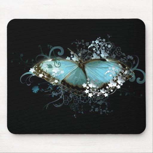 Azul encantado mouse pads
