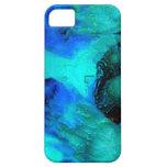 Azul enorme del gorila iPhone 5 cobertura