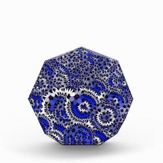 azul enrrollado de las flores (c)