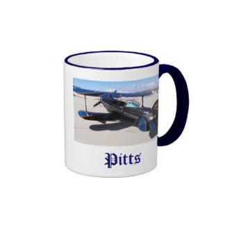 Azul especial de Pitts, Pitts Taza De Dos Colores