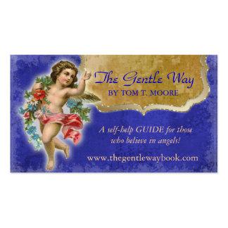 Azul espiritual cristiano de la tarjeta de visita