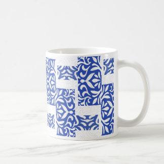 azul estupendo taza