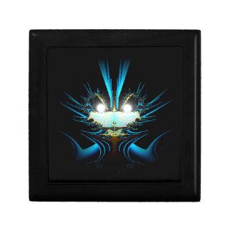 Azul extranjero del dragón de los ojos que brilla  cajas de regalo