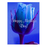 Azul feliz del día de madre subió postales