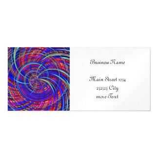 Azul feliz, rojo (c) invitaciones magnéticas