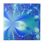 Azul floral azulejos cerámicos