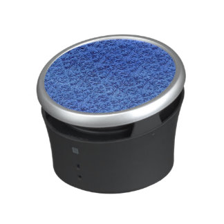 Azul floral del zafiro de la hoja del cordón del altavoz con bluetooth