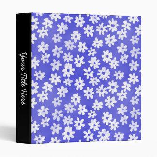 """Azul floral y blanco del estilo del batik (el 1in) carpeta 1"""""""