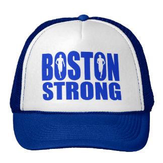 Azul fuerte de Boston Gorras