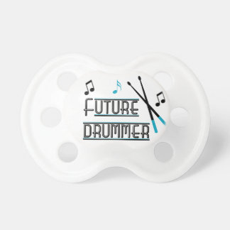 Azul futuro del batería chupetes de bebe