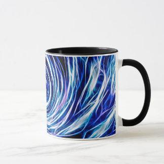 Azul futuro - su Estilo-Color de encargo 11 onzas Taza
