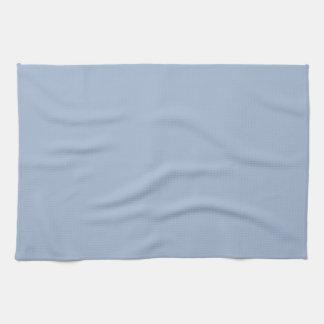 Azul georgiano de la cáscara de huevo de la ceniza toalla de mano