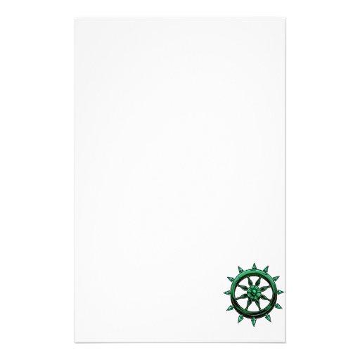 azul gráfico green.png de la rueda redonda de las  papeleria personalizada