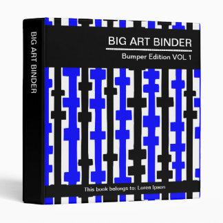 Azul grande de la carpeta 010 del arte (el 1in),
