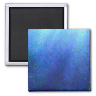 Azul grande imán cuadrado