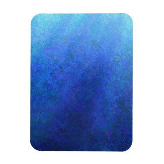 Azul grande imanes