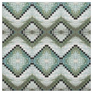 Azul, gris, verde salvia y tela 'Montauk de la Telas