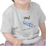 azul hambriento camisetas