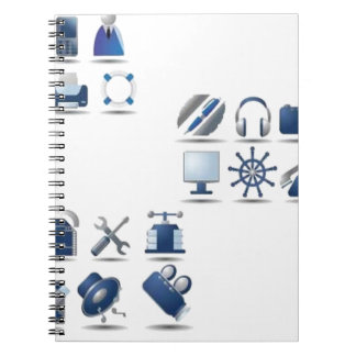 azul-icono-sistema libretas espirales