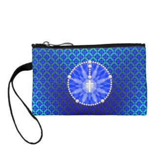 Azul ideal del colector del rosario