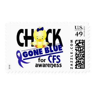 Azul ido polluelo para el síndrome crónico 2 del sellos