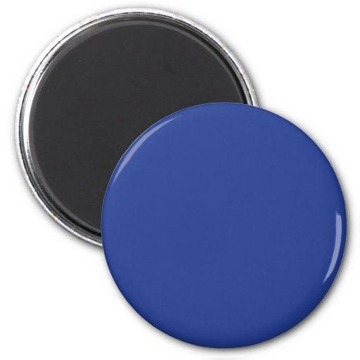 Azul Imán Redondo 5 Cm