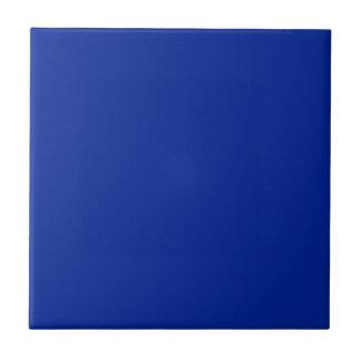 Azul imperial azulejo cuadrado pequeño