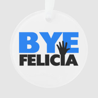 Azul intrépido de la onda de la mano de Felicia