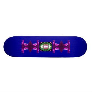 Azul inusual de la cubierta 8 del monopatín profun
