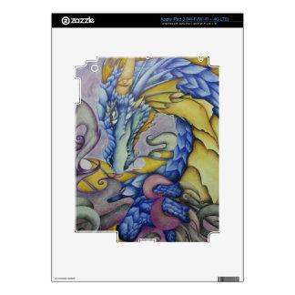Azul iPad 3 Decal