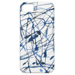Azul iPhone 5 Protectores