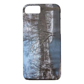 Azul James River del invierno Funda iPhone 7