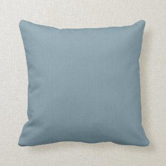 Azul ligero de la pizarra cojin