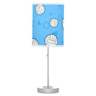 Azul lindo del modelo del voleibol