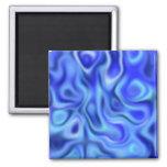 azul líquido iman para frigorífico