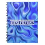 azul líquido libros de apuntes
