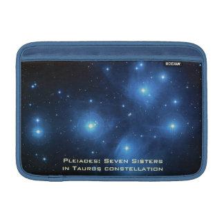 Azul manga de aire de Macbook de 11 pulgadas con P Fundas Macbook Air