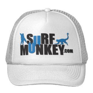 Azul marino - diseño de la cartelera de Munkey de Gorros Bordados