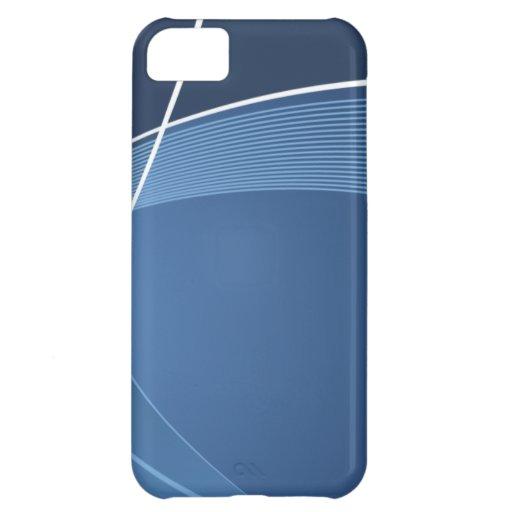 Azul marino funda para iPhone 5C