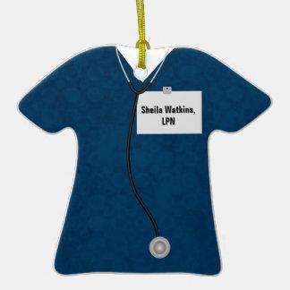 Azul médico del ornamento de la celebración de la  adornos