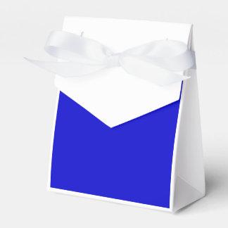 Azul medio caja para regalos de fiestas